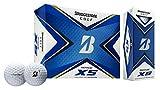 Bridgestone 2020 Tour B XS Golf Balls 1 Dozen White