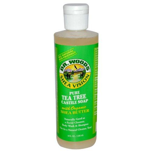 Shea Vision, Pure Tea Tree Castile Soap with Organic Shea Butter, 8 fl