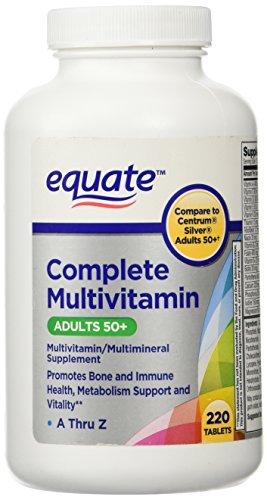 Equate Mature Adults 50+ Multivitamin 220 c