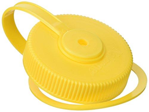 Wide Mouth Loop-Top Lids - Yellow (Nalgene Wide Mouth Loop Top)