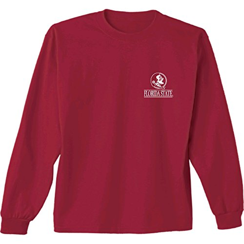 NCAA Florida State Seminoles Barn Long Sleeve Tee, XX-Large, Garnet (Alabama Shirt Bowl T Iron)