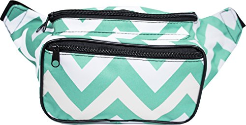 SoJourner Fanny Pack Waist Bag - Chevron Festival Packs for