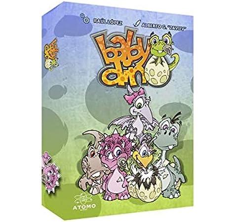 Átomo Games Babydino. El Juego de Mesa: Amazon.es: Juguetes y juegos