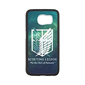 Life margin Attack on Titan phone Case For samsung_galaxy_s7 edge G78KH2490