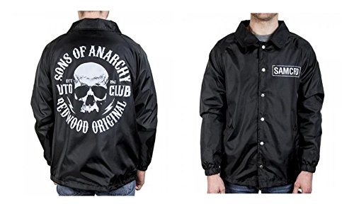 Son Of A Man Costume (Sons of Anarchy Coaches Jacket - X-Large)