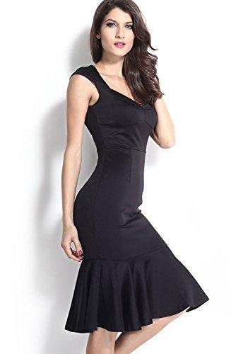 Pinkyee - Vestido - para mujer Black1
