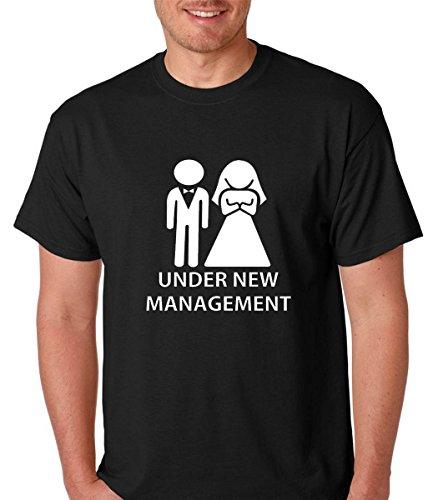 e19d0adf5 Raw T-Shirts Funny Wedding Marriage - Under New Management Premium Men's T- Shirt (X-Large, Black)