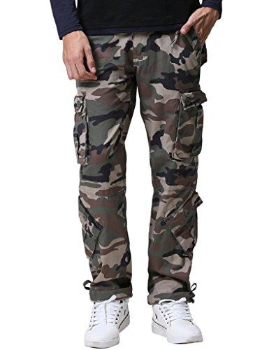 Zipper Fly Fatigue Pants - 9