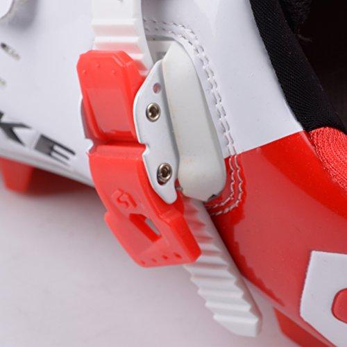 Männer und Frauen MTB/Mountainbike Fahrrad schuhe Fahrradschuhe in verschiedenen Größen (Größe 43(Fußlänge:275mm)),Vorfuß Breite 90.32mm