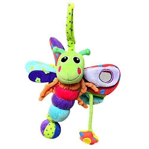 Lovely Colorful Dragonfly Baby Crib Mobile Bed Bell with Sound Cute Toys ()