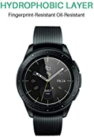 LK Protector de Pantalla para Samsung Galaxy Watch 42mm Cristal Templado, [3 Paquetes] [Resistente a Arañazos] Vidrio Templado Screen Protector