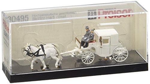 (Preiser 30495 Closed Wedding Coach HO Scale Vehicles Model Figure)