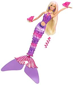 T1474 Mattel - Barbie - rubia sirena flotante