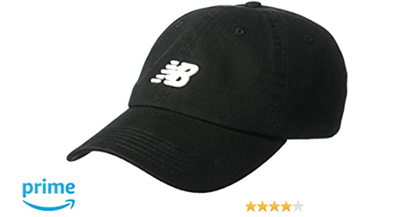 Amazon.com: New Balance Classic Nb Curved Brim Hat, One Size, Black: Sports & Outdoors