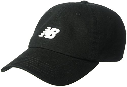 New Balance Classic Nb Curved Brim Hat, One Size, Black from New Balance