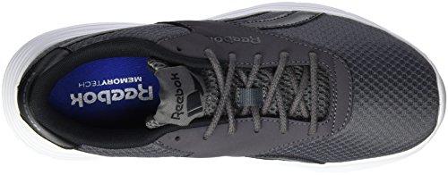 Reebok Royal EC Ride MTP, Zapatillas de Deporte Para Niños Plateado (Alloy / Ash Grey / Black / White)