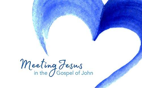 Meeting Jesus in the Gospel of John: Prayer Journal cover