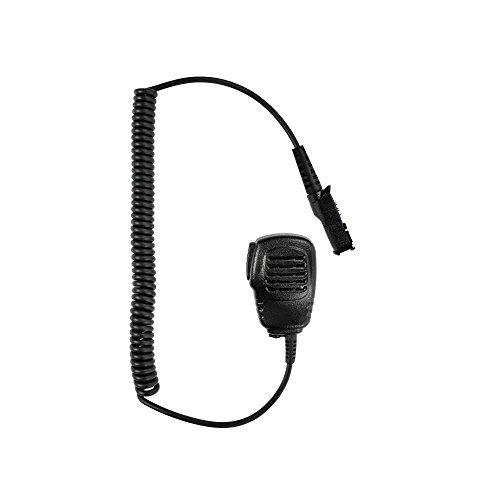 Maxtop APM100-AX Light Duty Shoulder Mic Speaker Microphone for MOTOTRBO DEP550 DEP570 DP2000 DP2400 DP2600 (1 Tetra One Light)