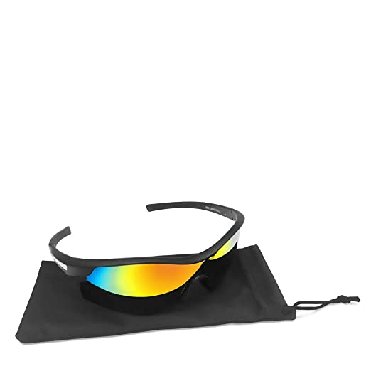 de75673d4 Bell+Howell TACGLASSES One-Size-Fits-All Polarized Sports Sunglasses for Men