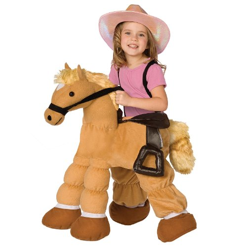 Pony Costumes For Kids (Plush Pony Child Costume)