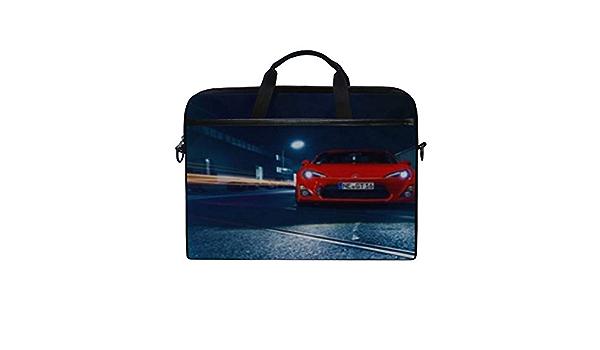 Lexus is Lexus Tuning Laptop Shoulder Messenger Bag Case Sleeve for 14 Inch to 15.6 Inch with Adjustable Notebook Shoulder Strap