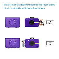 Sunyoy PU Leather Case Bag for Polaroid Snap Touch Camera by Sunyoy Electronics