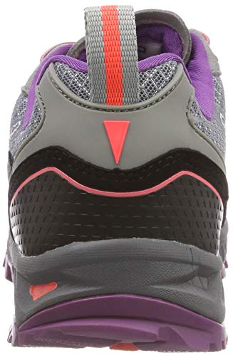 CMP Damen Altak Traillaufschuhe Grau (Stone-red Fluo-purple 13be)