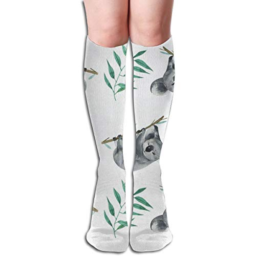 (Socks Watercolor Koala Bear Personalized Womens Stocking Party Sock Clearance for Girls)