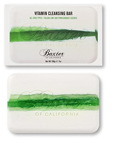 - Baxter of California Vitamin Cleansing Bar for Men, Italian Lime and Pomegranate, 7oz