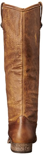 Frye Womens Melissa Button Boot Cognac Washed Antique Pull-up-77172