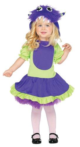 Cuddle Monster Toddler Costume (Monster Inc Girl Costume)