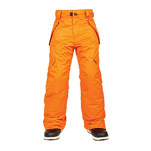 686 Boy's All Terrain Insulated Pant, X-Small, Orange by 686