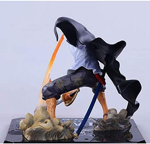 Toy Standbeeld Toy Model Anime Red Hair Shanks Character Standbeeld Desktop Decoration 19CM Jzx-n