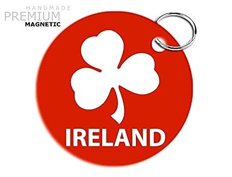 Impresionante JCM Irlanda Rugby Llavero magnético, diseño de ...
