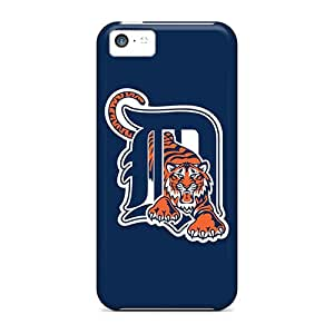 High Impact Dirt/shock Proof Cases Covers For Iphone 5c (baseball Detroit Tigers)