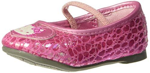 Hello Kitty Kimmy Ballet Flat (Toddler),Pink,5 M US Toddler