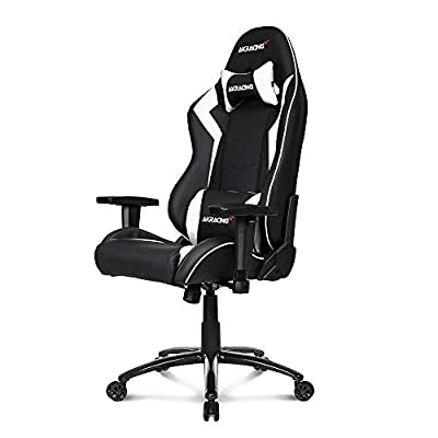 AKRacing Core Series SX Gaming Chair with High Backrest, Recliner, Swivel, Tilt, Rocker and Seat Height Adjustment Mechanisms with 5/10 Warranty - White: Kitchen & Dining
