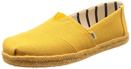 (TOMS Women's Alpargata on Rope Gold Fusion Canvas On Mono Rope 9.5 B US)