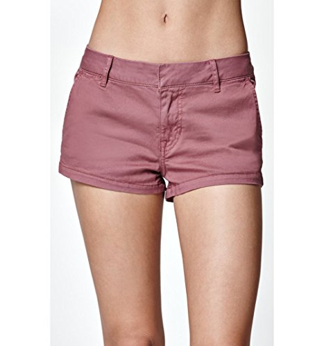 Bullhead Denim Co. Womens Crushed Berry Chino Shorts