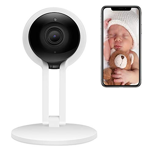 CPVAN WiFi Security Camera, Wireless IP Camera, Home Indoor Camera with Night Vision, Two Way Talk, Motion Detection, Support 2.4G Network for Home/Baby/Pet Monitor with iOS Android App