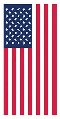 American Flag Door Cover 5 feet