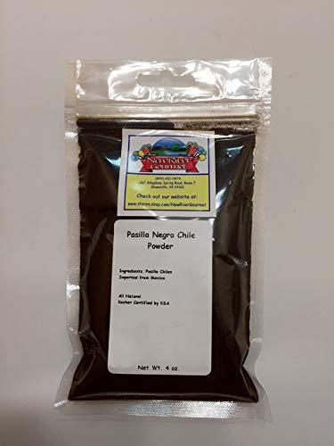 Mexican Pasilla Negro Chili Powder (4 ounces)