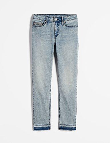 Calvin Klein Jeans Women's Ankle Skinny Jean, Isla Blue Destructed, 28 by Calvin Klein (Image #4)