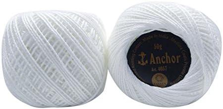 IBA Indianbeautifulart 50 Gramos Crochet Hilo Tatting Hilados de ...