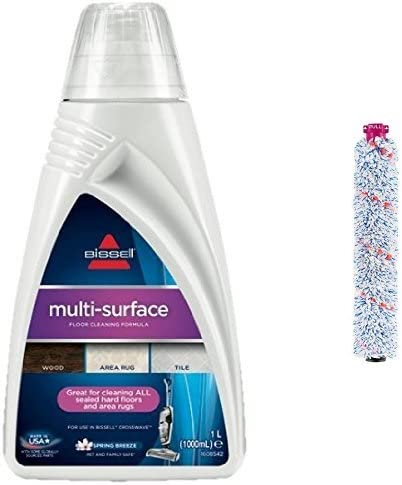 BISSELL Floor Cleaning Solution with Multisurface Brush Roll, Cross Wave Bundle: AmazonSmile: Kitchen & Home