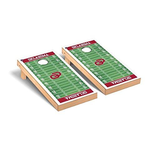 Victory Tailgate Oklahoma Sooner Desktop Cornhole Game Set Football Version