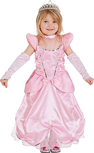 Girls Baby Pink Fairy Godmother Princess Peach TV Film Movie World Book Day Week Fancy Dress Costume Outfit (3-4 Years (104cm)) -