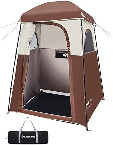 Camp Toilet Rain Shelter For Camping /& Beach Portable Outdoor Shower Tent heirao4072 Pop Up Changing Room Privacy Tent With Carry Bag Lightweight And Sturdy