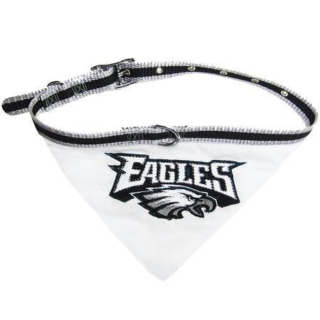 Pets First Philadelphia Eagles Collar Bandana, Large