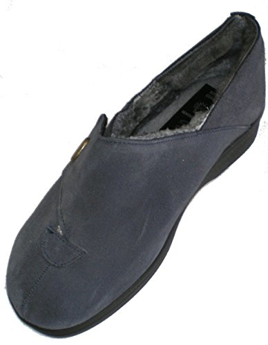 Süllwald 340179 mujer slippers Azul